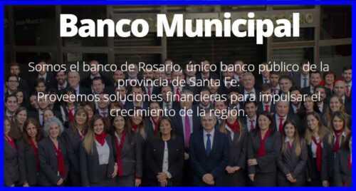 Telefono 0800 Banco Municipal de Rosario
