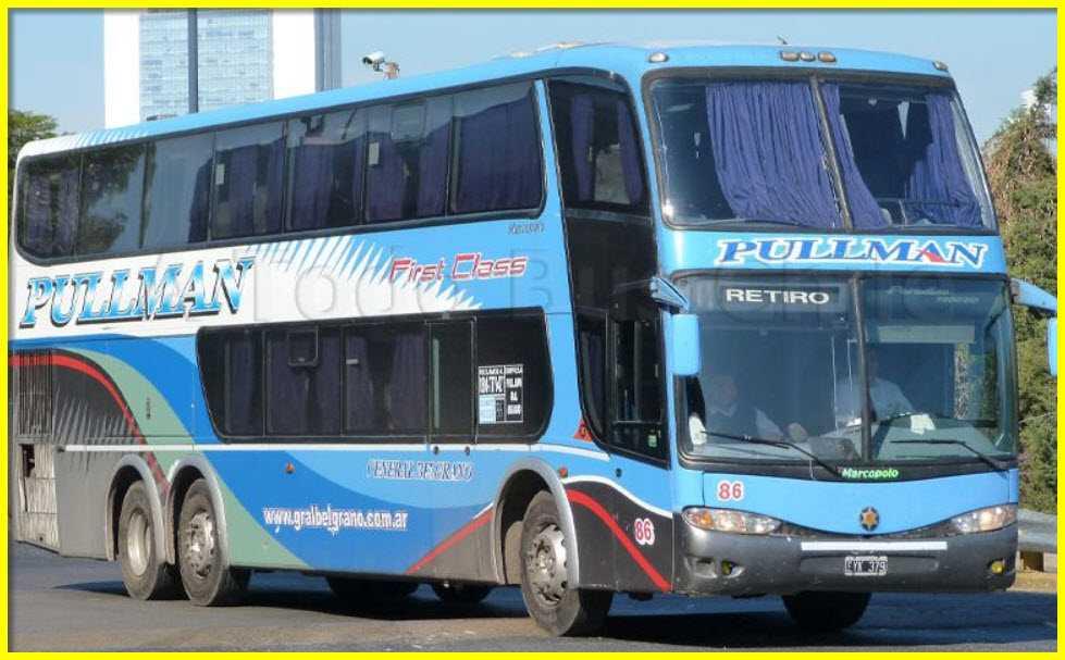 Teléfonos 0800 Pullman General Belgrano