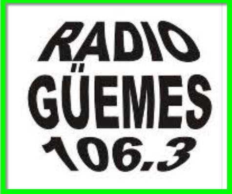 WhatsApp Contacto con Oyentes Radio Güemes 106.3