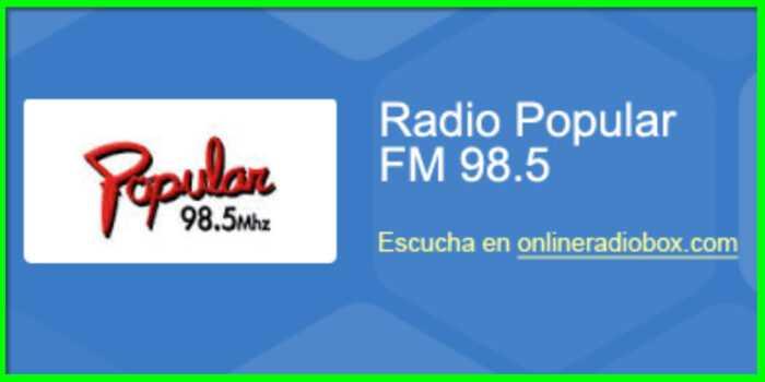 WhatsApp Contacto con Oyentes Radio Popular
