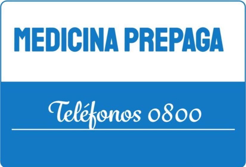 Medicina Prepaga Telefono 0800