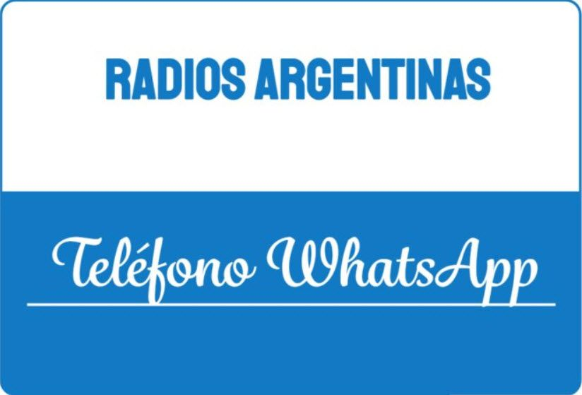 Radio Argentinas Telefono WhatsApp